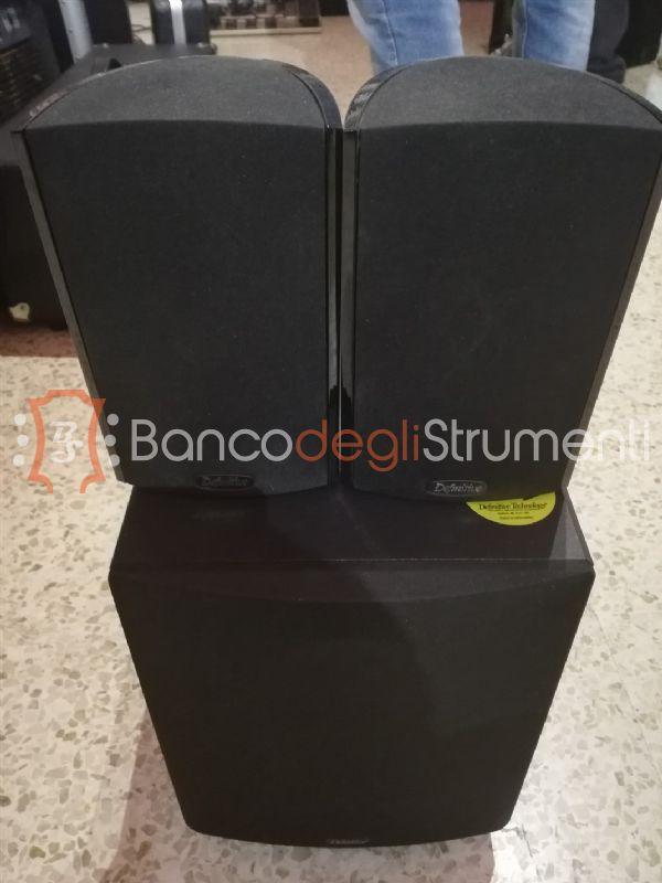 Definive technology prosub 800 2 promonitor 800 impianto audio per casa usato banco degli - Impianto stereo per casa ...
