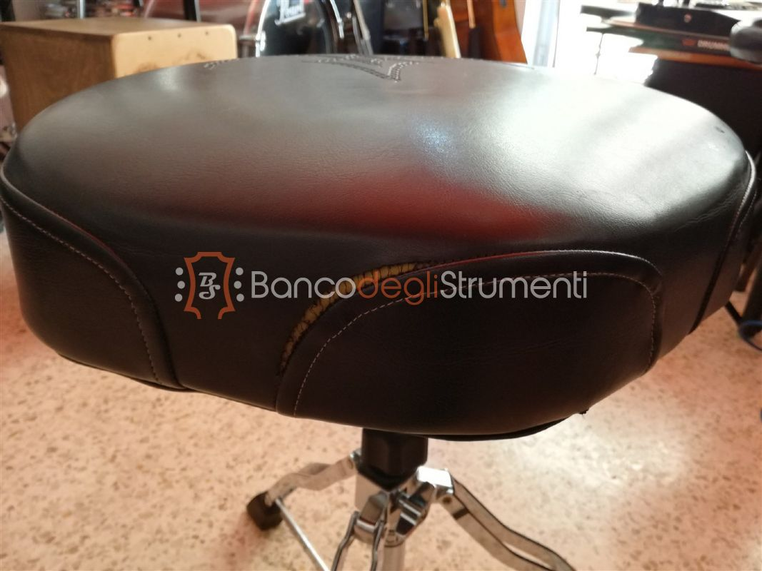 Tama 1st chair drum throne sgabello per batteria usato banco