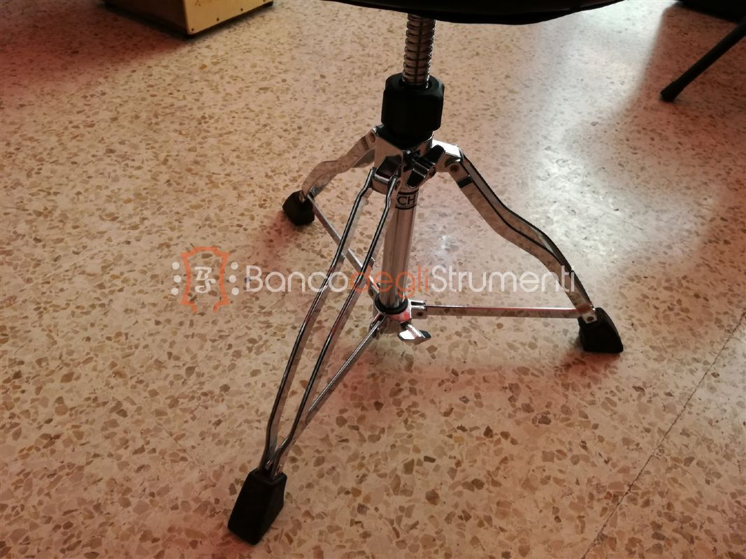 Tama st chair drum throne sgabello per batteria usato banco